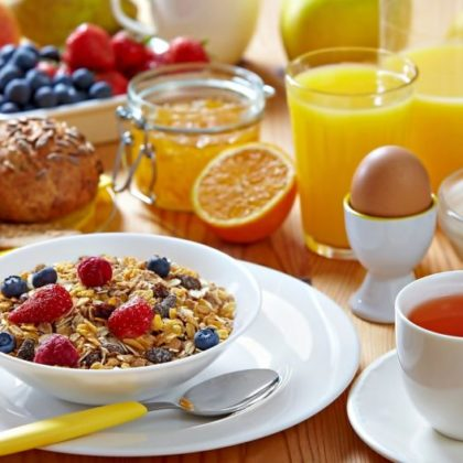 Organic Breakfast… love breakfast!